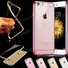 Chic & Elegant Ultra Thin TPU Gel Shockproof Clear Back Case Cover For iPhone 7