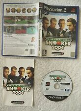 29763 World Championship Snooker 2004 - Sony Playstation 2 Game (2004) SLES 5238
