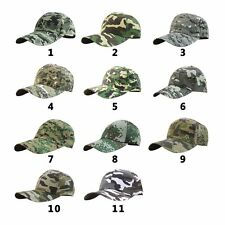 Men Women Army Camouflage Military Camo Hat Forest Soldier Hunting Baseball Cap