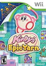 Kirby's Epic Yarn Nintendo Wii - COMPLETE w/ MANUAL CASE DISC TESTED Video Game