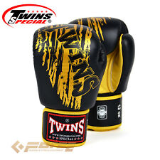 TWINS Pro Grade Leather Gloves Muay Thai Kick Boxing MMA UFC  FBGV-TW3