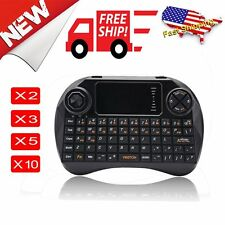 #LOT 2.4GHz Keyboard With Touchpad Air Mouse Remote Controller for PC Pad Tablet