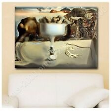 POSTER Or STICKER Decals Vinyl Apparition Of Face Fruit Dish Salvador Dali