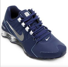 NIB Women's Nike SHOX Avenue SE Running Shoes 844131 400 Binary Blue/Metallic Sl