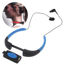 8GB Waterproof Diving MP3 Music Player FM Radio with Neckband Earphone