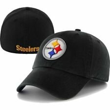 NFL Pittsburgh Steelers Franchise Fitted Hat Black Fitted NWT