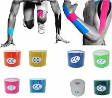 5M Long Sports Athlete Elastic Kinesiolo Roll Physio Muscle Injury Support Tape