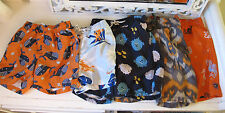 Boys 3T 4T swim trunks board shorts Gymboree Old Navy Baby Gap Sea life Blue EUC