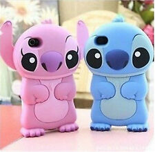 Stich Soft  Cartoon Silicone Case Cover for iPhone 6 6Plus 5S Touch 5Gen 5th