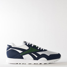 New Womens Reebok CLASSIC RAPIDE WL BS5802 WHITE/NAVY/GREEN US 5.5 - 8.0 TAKSE