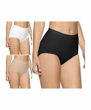 LADIES MAXI SEAMLESS, LIGHT CONTROL BRIEFS/KNICKERS. PACKS- 1 OR 2