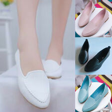 New Fashion Womens Boat Shoes Casual  Slip On Flats Loafers Single Shoes