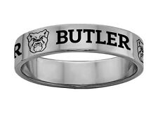 Butler University Bulldogs Ring | Stainless Steel Band Style Rings 6mm Wide