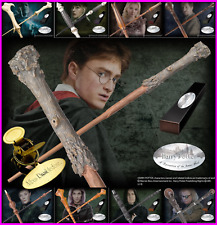 Harry Potter Collectable Wands in Purple Gift Box Harry Hermione Ron UK SELLER