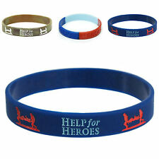 FREE POST Help For Heroes Charity Wristband Friendship Band Charity Support
