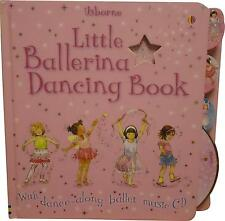USED Usborne The Little Ballerina Dancing Book A3 (Y.M)