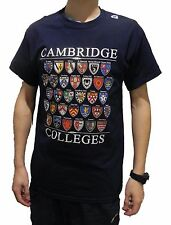 Cambridge Colleges T-shirt - Navy - Colleges of Cambridge, England