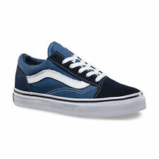 Vans Old Skool Navy Black Kids Shoes
