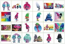 Trolls Temporary Tattoos Party Pack Loot Bag Fillers