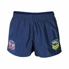 Sydney Roosters NRL Mens Supporter Shorts BNWT Rugby League Clothing