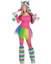 Rockin Rainbow Monster Womens Costume
