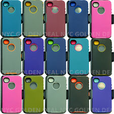 For Apple iPhone 4/4s Case Cover(Clip fits Otterbox Defender Series)