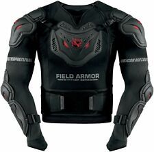 *Fast Shipping* ICON Field Armor Stryker Rig (Black) Motorcycle Armor
