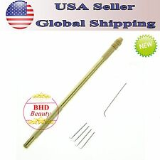 GEX Wig Ventilating Needle and Holder for Making Lace Wig Toupee Hair Piece New