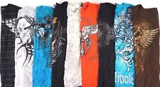 Lot of 11 Random Men's Graphic Tees w Affliction Brand Shirt S M L AWESOME!