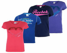 Kids Boys Girls Reebok T Shirt Unisex Casual Crew Neck Tee Short Sleeve Top
