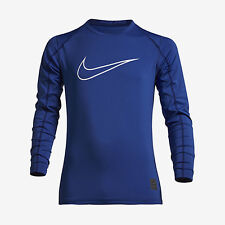 NIke Boys Pro Cool Exploded Swoosh Long Sleeve Soccer Shirt Save 40% XL Training