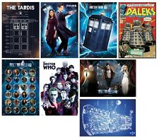 DOCTOR WHO POSTERS - Dr Who The Doctor TARDIS DALEK - 61x91.5cm Free UK Postage