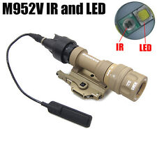 New IR Version M952V-IR LED WeaponLight Tactical Light White Light & IR Output