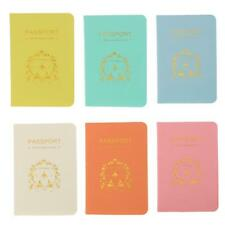 PU Leather Passport Cover Exterior Protector Security Holder Travel Accessories
