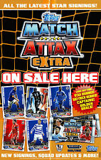 Hat Trick Heroes Insert Cards. Match Attax Extra 11/12 - NEW / Mint. Choose Card