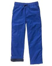 NWT Gymboree Boys Pull on Pants Gymster Fleece Lined Blue 4 5 6 7 8 10