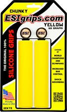 New ESI 32mm Chunky Silicone Grips: Yellow