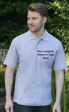 CUSTOM EMBROIDERED PRINTED POLO SHIRTS personalised workwear T-shirt wholesale