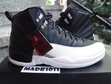 NEW AIR JORDAN 12 XII RETRO 2012 PLAYOFF US 13 BLACK WHITE RED 130690-001