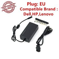 110V/240V 96W Battery Power Supply Charger Universal Laptop AC Adapter EU Plug~D