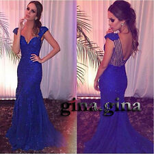 Mermaid Sweetheart Prom Dress2017Beaded Satin Pageant Party Dresses Formal Gowns