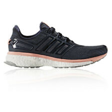 Adidas Energy Boost 3 Womens Blue Cushioned Running Road Sports Shoes Trainers