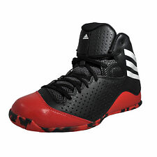 Adidas Next Level Speed IV Mens Basketball Court Street Style Trainers Black