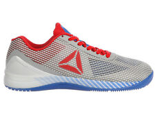 NEW MENS REEBOK CROSSFIT NANO 7.0 TRAINING SHOES TRAINERS WHITE / AWESOME BLUE