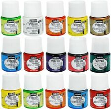 PEBEO VITRAIL IMITATION STAINED GLASS  PAINT  45 ml BOTTLES