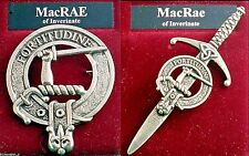 MacRae MacRay Scottish Clan Crest Badge or Kilt Pin Ships free in US