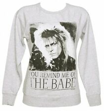 Official Women's You Remind Me Of The Babe Bowie Labyrinth Sweater