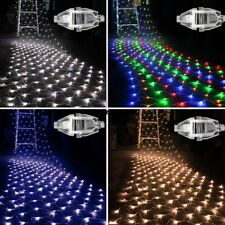 100 LED Net Mesh Decorative Fairy Light Lighting Christmas Wedding Party VGY01