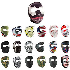 Zanheadgear Neoprene Full Face One Size Motorcycle Face Mask