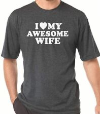 I Love My Awesome Wife T-Shirt cool tshirt designs funny tees wife gift mothers